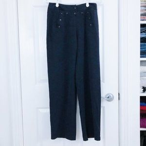 Retro Inspired Bianca Nygard Navy Pants - 6 Petite